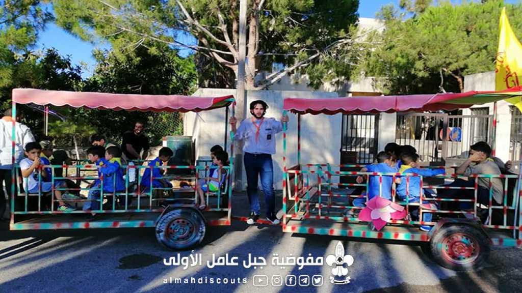 افتتاح النادي الصيفي في الحلوسية