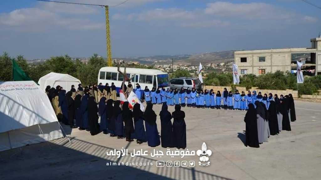 افتتاح مخيم العدل المنتظر في قطاع جويا