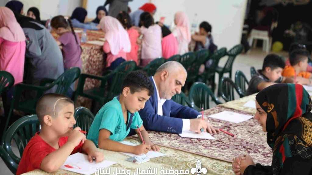 المرسم الفني في اجواء عيد الغدير