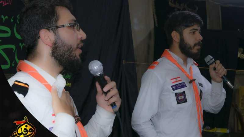 احيا فوج الحسين(ع) في قطاع الاول الليلةالثالثة