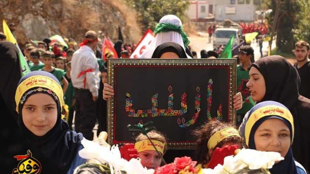 مسيرة العاشر في قطاع جبيل وكسروان