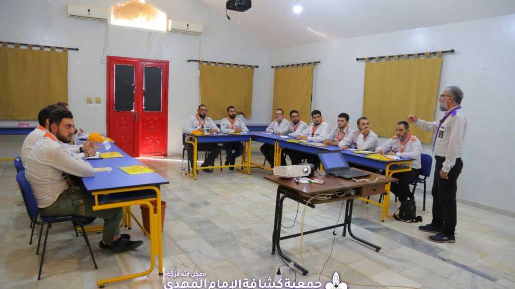 مفوضية التدريب تستكمل دورات مخيم سيد الشهداء