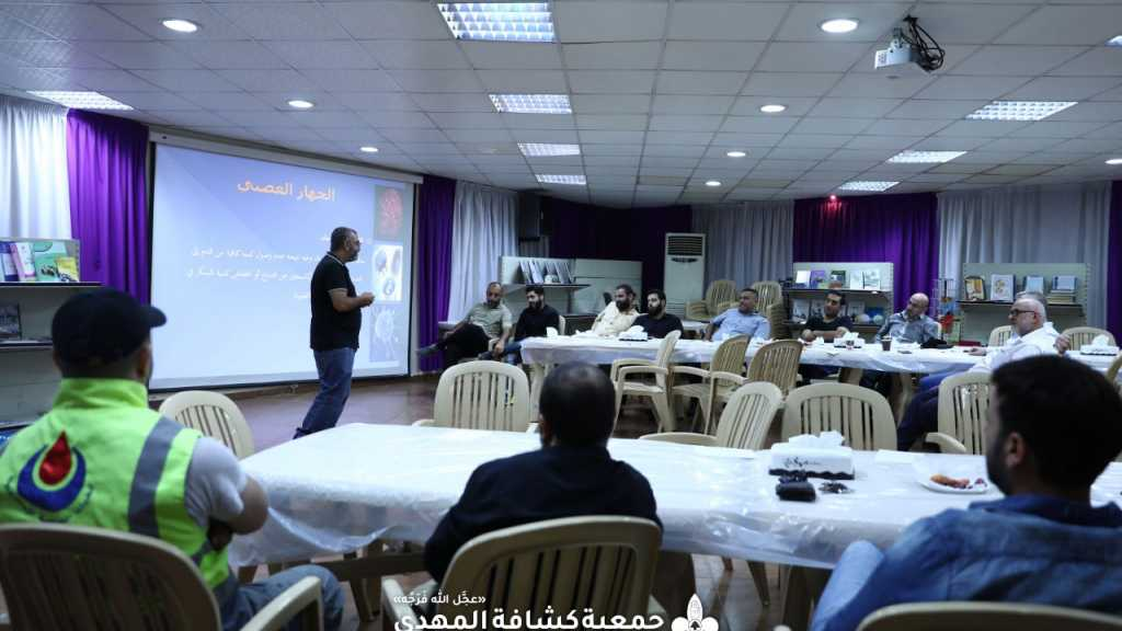 قيادة وفد خدام زوار الإمام الحسين في الأربعين تعقد أولى لقاءاتها مع أعضاء الوفد في بيروت