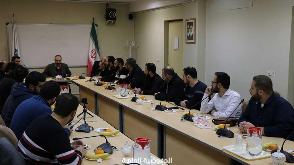 وفد مفوضية الإعلام يُنهي دورة تصميم الحملات الإعلامية في طهران ويتوجه اليوم الى مشهد المقدسة