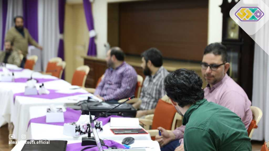 اللجنة الخاصة بإنتاج الهوية البصرية الجديدة للجمعية تستكمل دراسة مندرجات الهوية