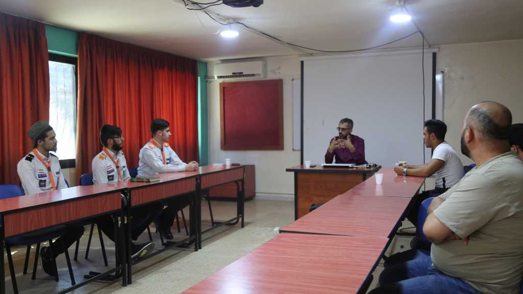 لقاء تأهيلي لأمناءإعلام القطاعات   _ مفوضية البقاع