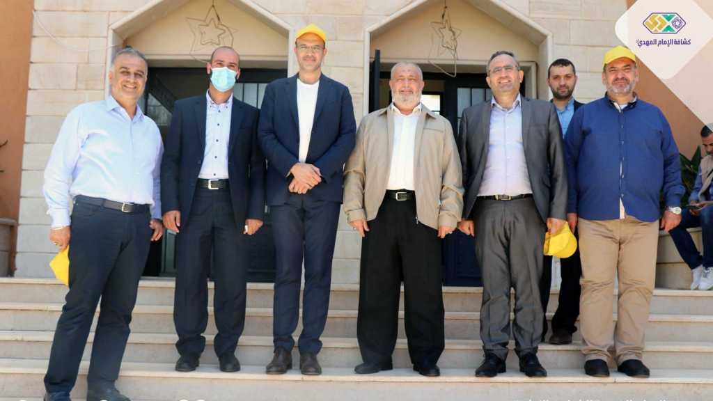 زيارة وزير الصحة الدكتور حمد حسن للمدينة