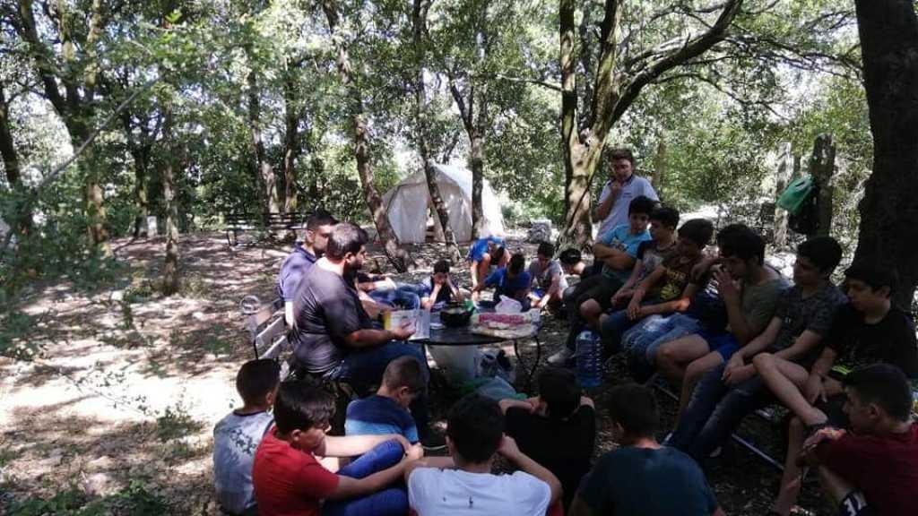 المخيمات الكشفية في قطاع جبيل وكسروان