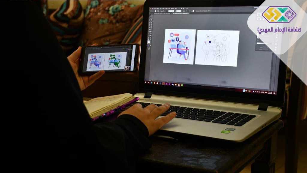 دورة في التصميم الغرافيكي لقائدات مفوضية جبل عامل الثانية