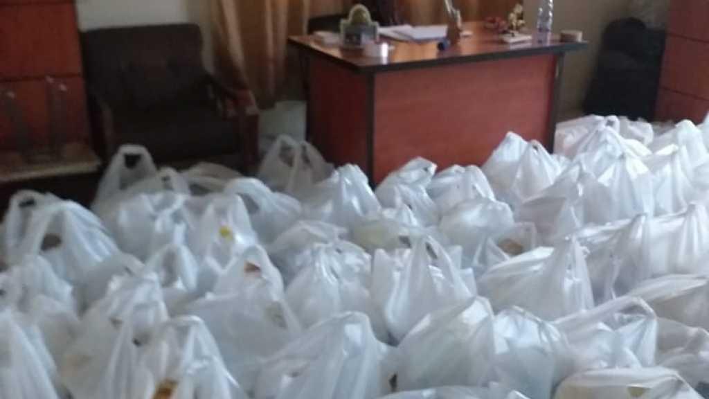 توزيع حصص غذائية - قطاع بعلبك