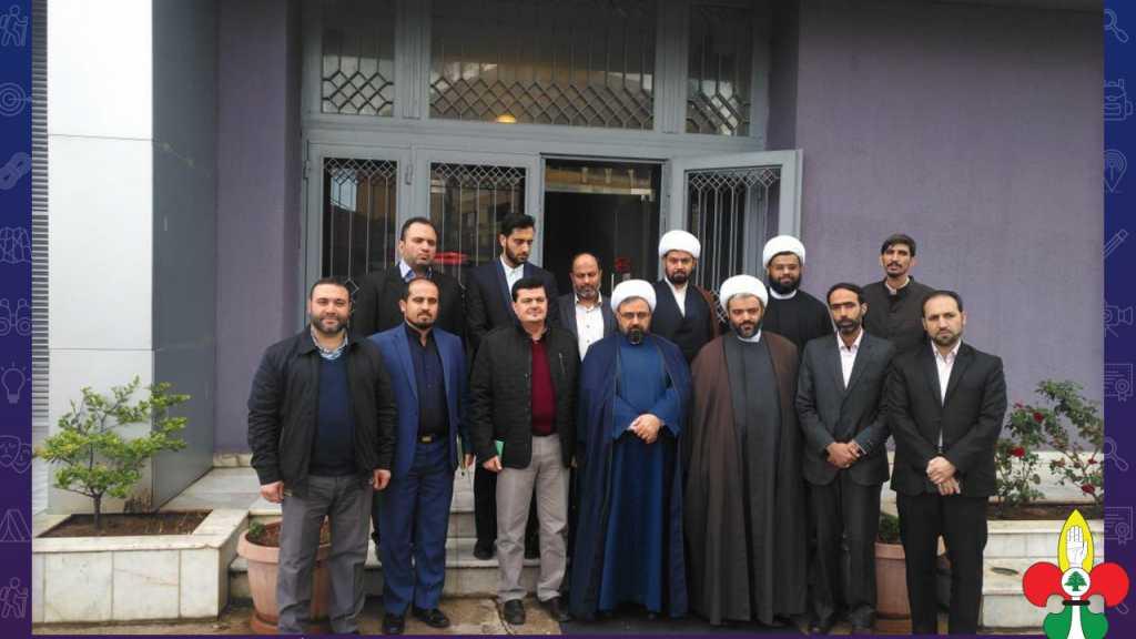 رئيس الجمعية يستقبل وفداً من وزارة الثقافة والإرشاد الإيرانية