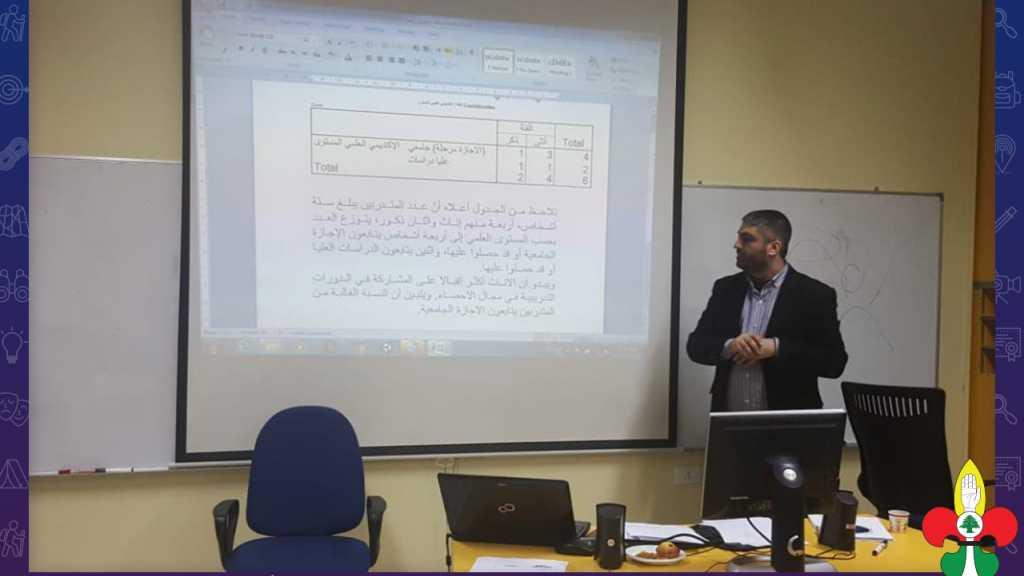 مفوضية البرامج تنفذ ورشة الإحصاء الوصفي