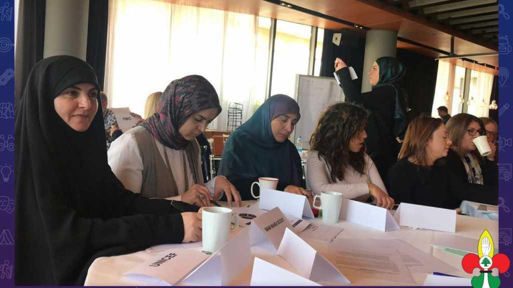 ورشة تدريبية في إعداد استراتيجية الحماية الإجتماعية