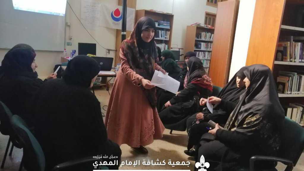 ورشة الوقاية من مسببات السرطان في النبي شيت