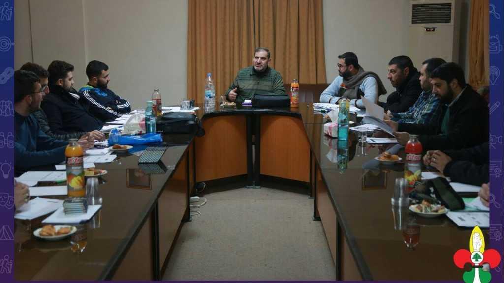 جلسة تنظيمية لعمداء قطاع الإقليم