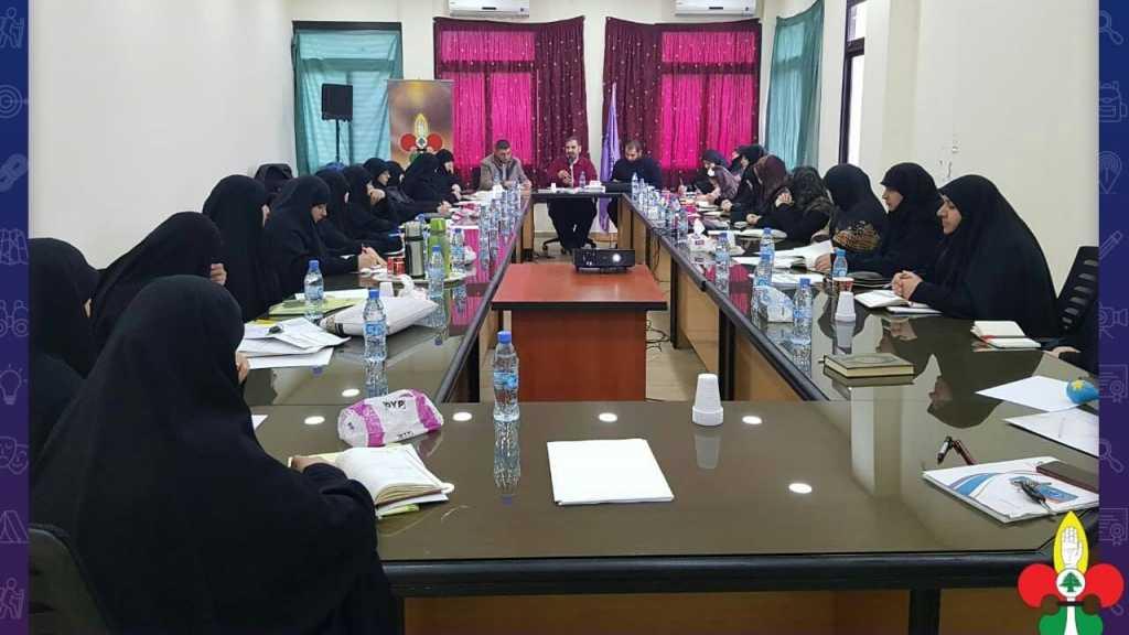 جلسة تنظيمية لعميدات قطاع الزهراني