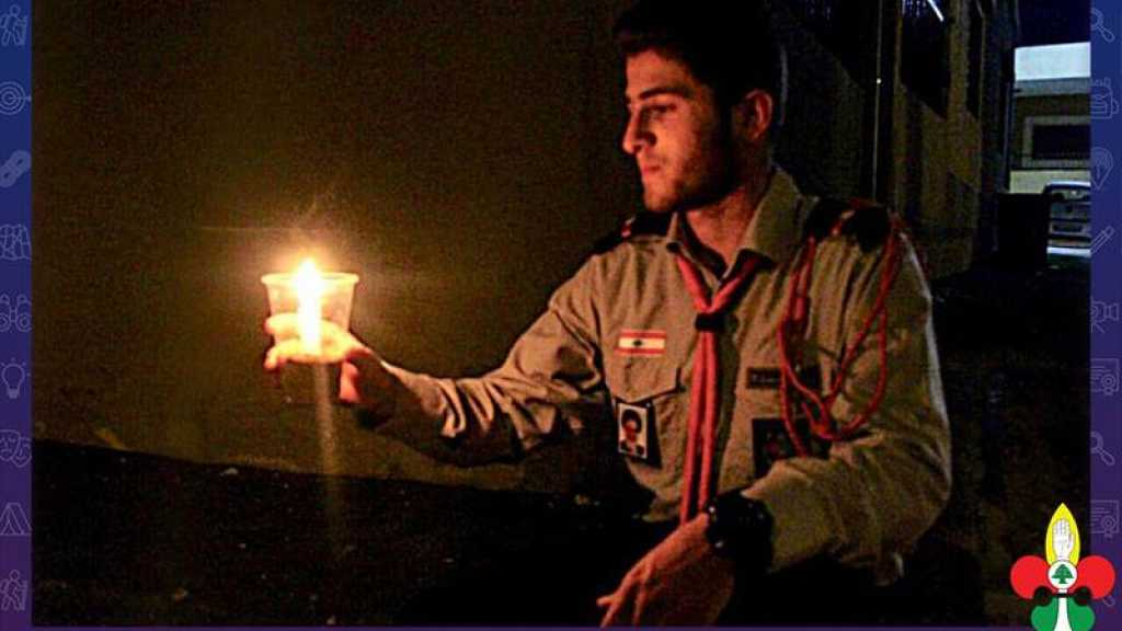 إضاءة شموع في ديرعامص