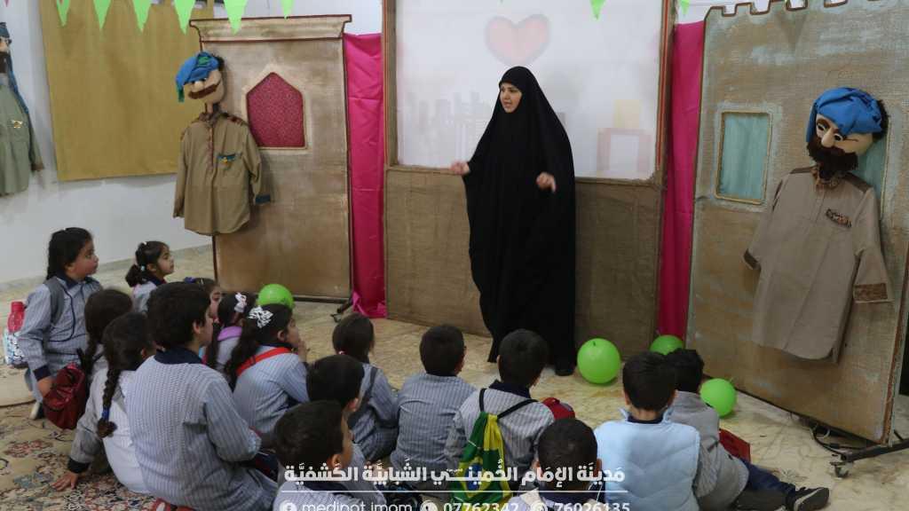 مدرسة الوفاء اللبناني - جبشيت ، حطت رحالها في مدينة الأعمال الحرفية