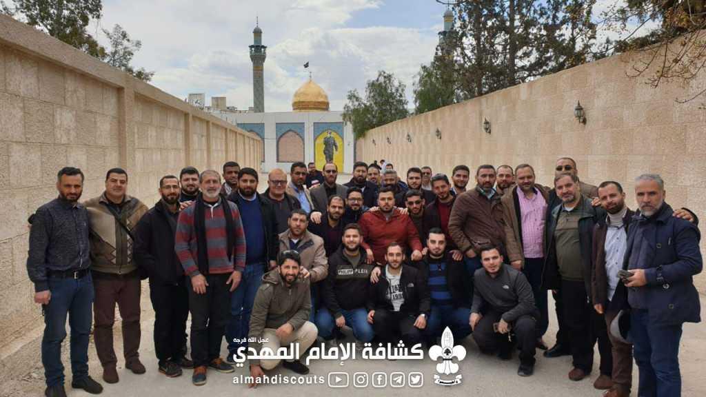 رحلة تكريمية للقادة العاملين بملف الجوالة في الجمعية الى سوريا