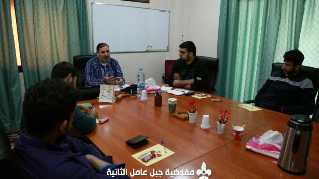 لقاءٌ إعلامي في مفوضية جبل عامل الثانية تحضيرًا للخامس عشر من شعبان
