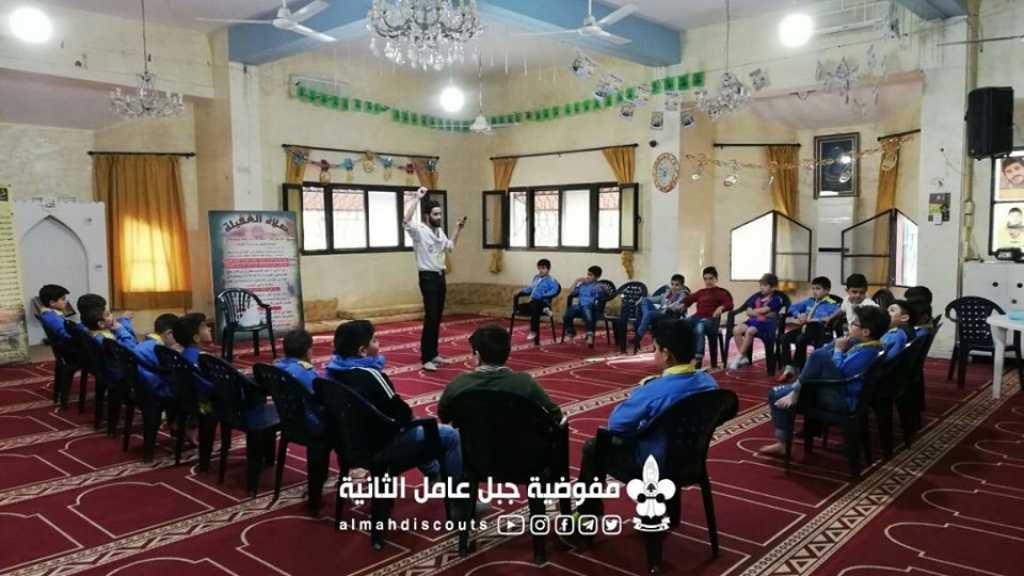 ورشة آداب المسجد لأشبال فوج تول