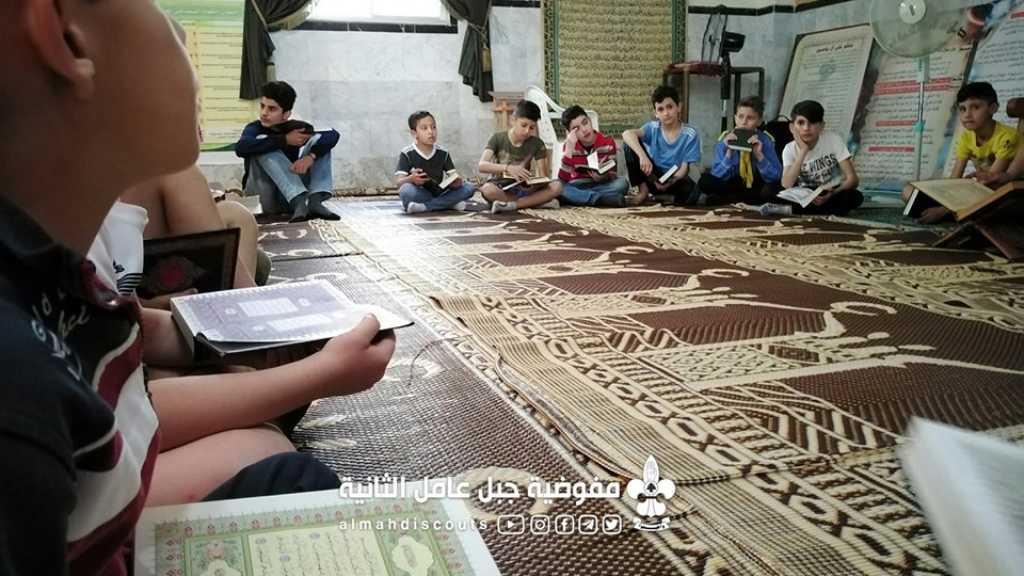 حلقة تلاوة قرآنية في فوج رومين
