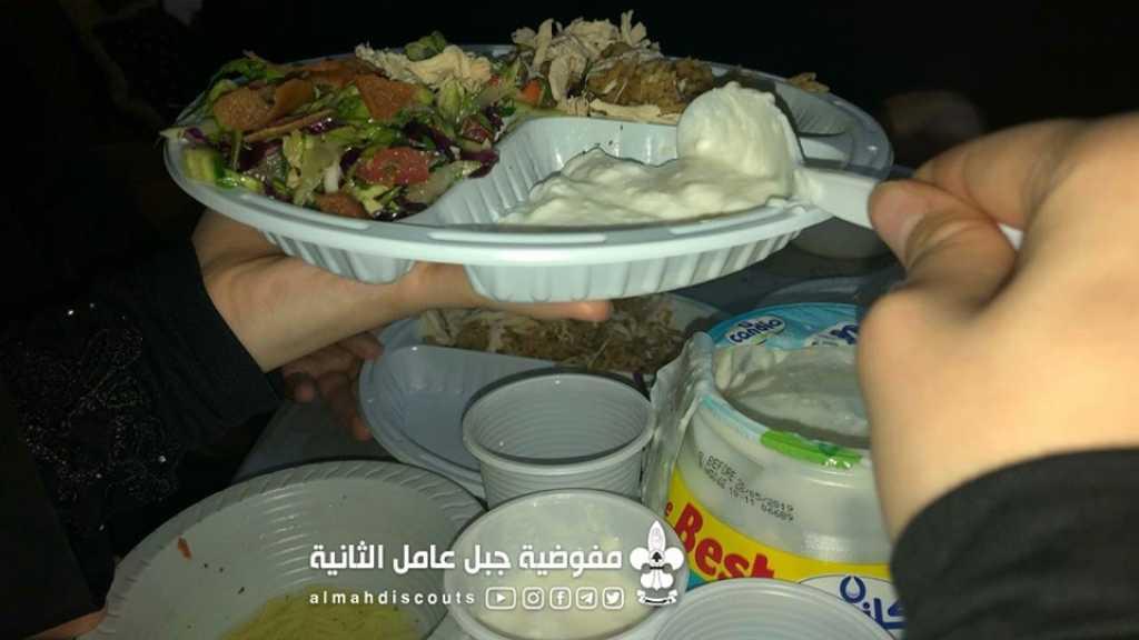 كشفيات صيدا في رحاب شهر الخير