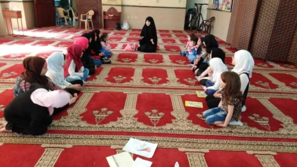 حلقات قرآنية في المتن