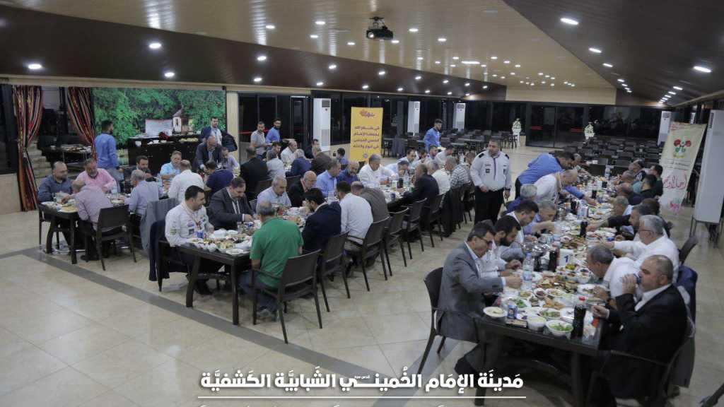حفل إفطار رؤوساء البلديات في المدينة