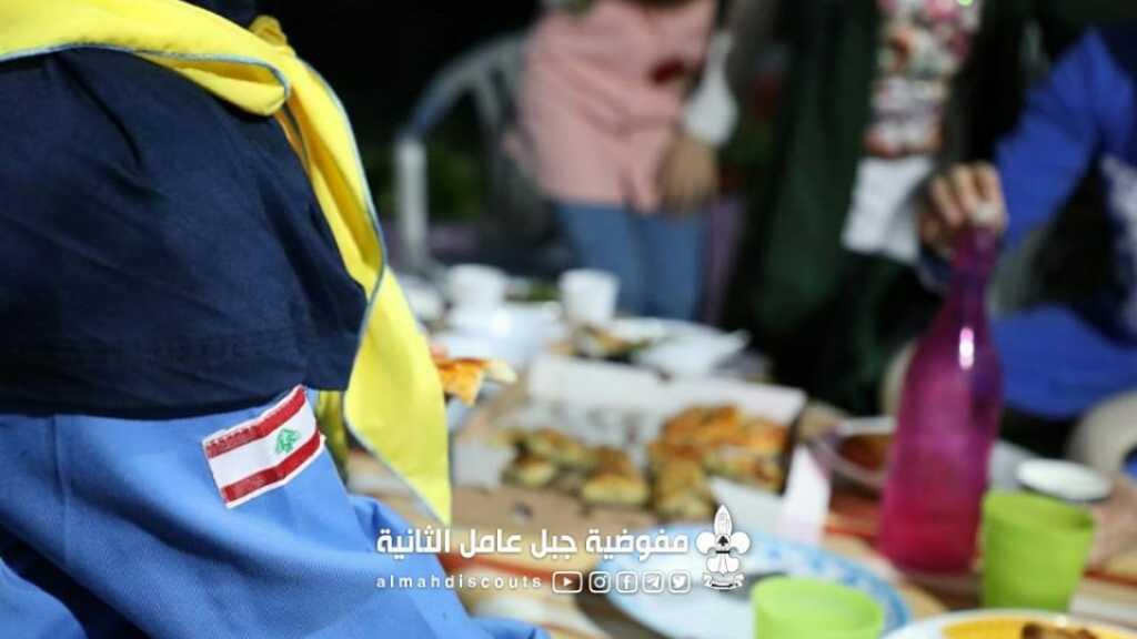 مائدة إفطار لزهرات عربصاليم