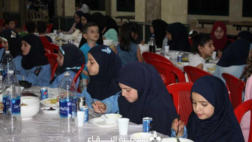 افطار في فوج شمسطار