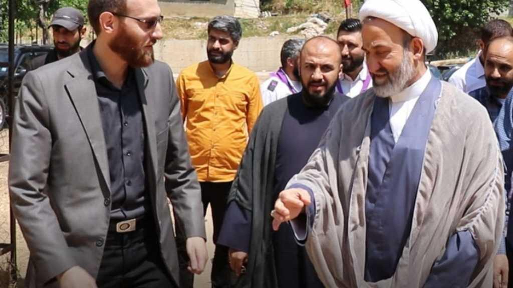 افتتاح مخيم أجيال النصر