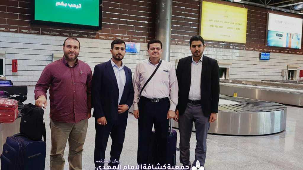 رئيس الجمعية يستكمل جولته في العراق برفقة المفوض الدولي