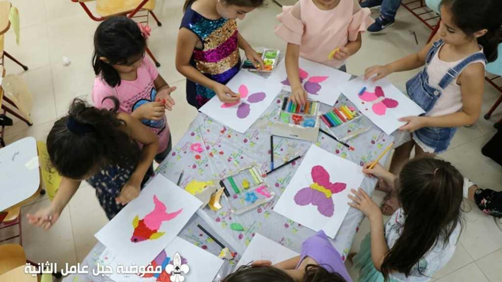 الأسبوع الأول من النوادي الفنية للفتيات