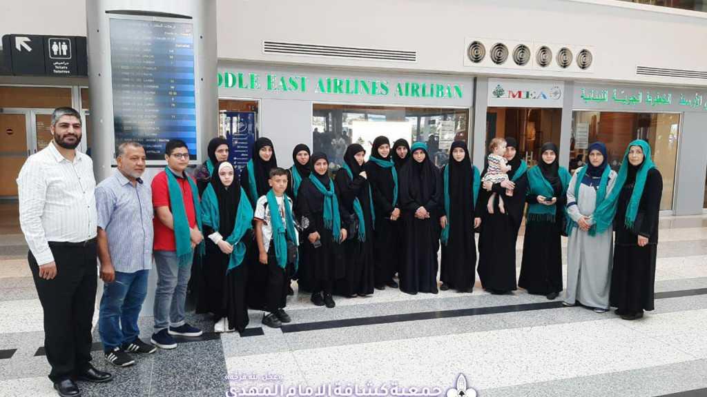 6 قائدات يفزن بجائرة العتبة الحسينية المقدسة ويتوجّهن للعراق برحلة تكريمية