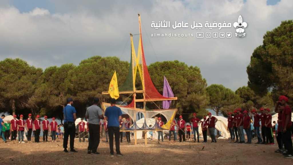 اليوم الثاني من دورات قادة الجماعات في قطاع الزهراني