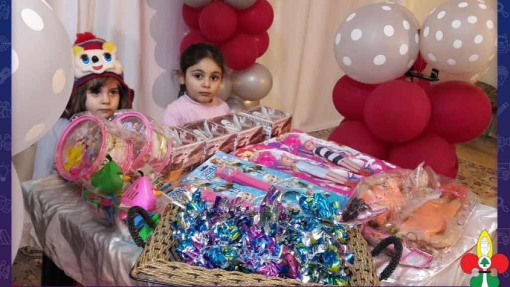 ولادة السيدة زينب عليها السلام في فوج جنة الزهراء..