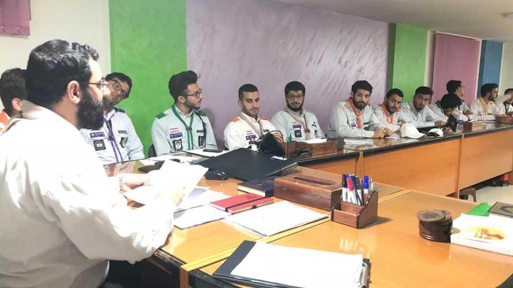 مفوضية بيروت تجتمع بالقادة المرشحين لدورات اتحاد كشاف لبنان