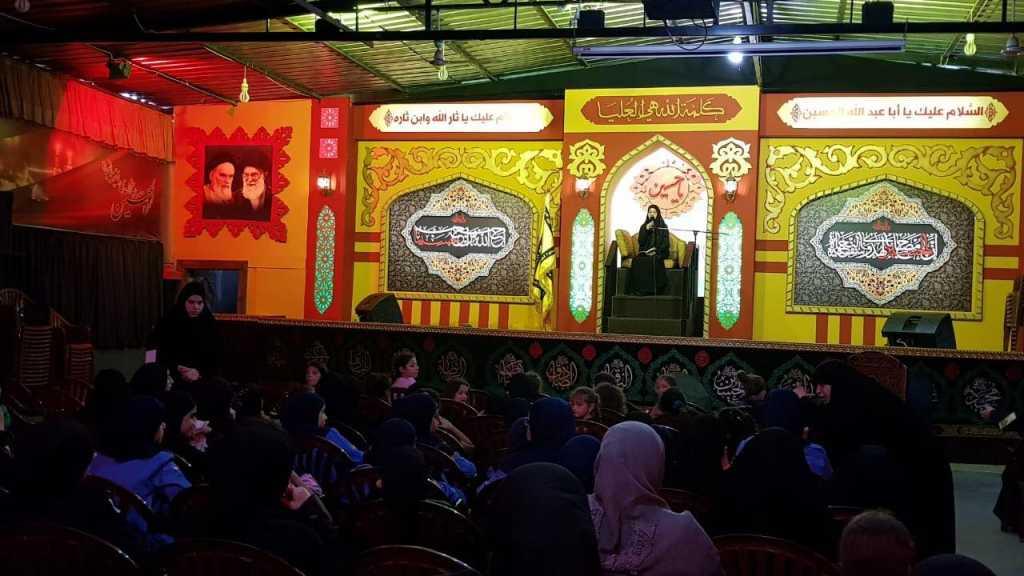 اليوم الثاني من الإحياء العاشورائي في مفوضية بيروت