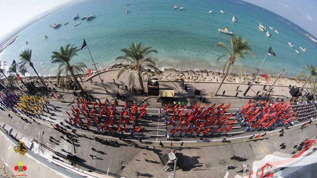 مسيرة عاشورائية هيبة في يوم العاشر من المحرم في مفوضية جبل عامل الأولى