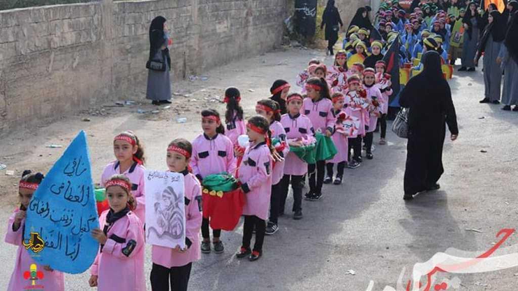مسيرة حسينية في بلدة الشهابية