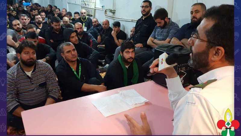 فوج خُدام الإمام الحُسين يُنهي مهامه الإسعافية لزوار أربعين الإمام الحُسين