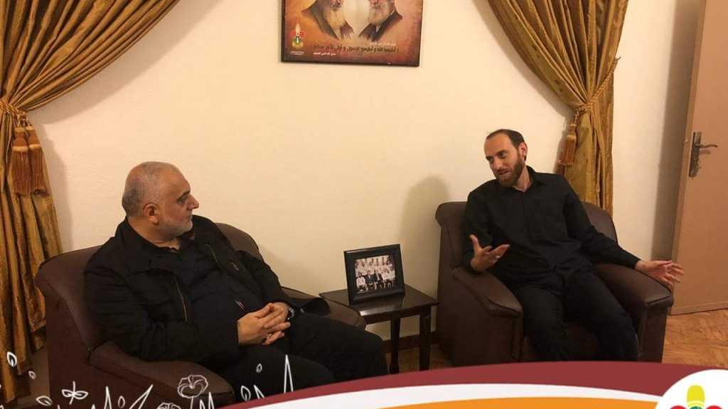 مفوض الشمال وجبل لبنان يستقبل رئيس جمعية إبداع