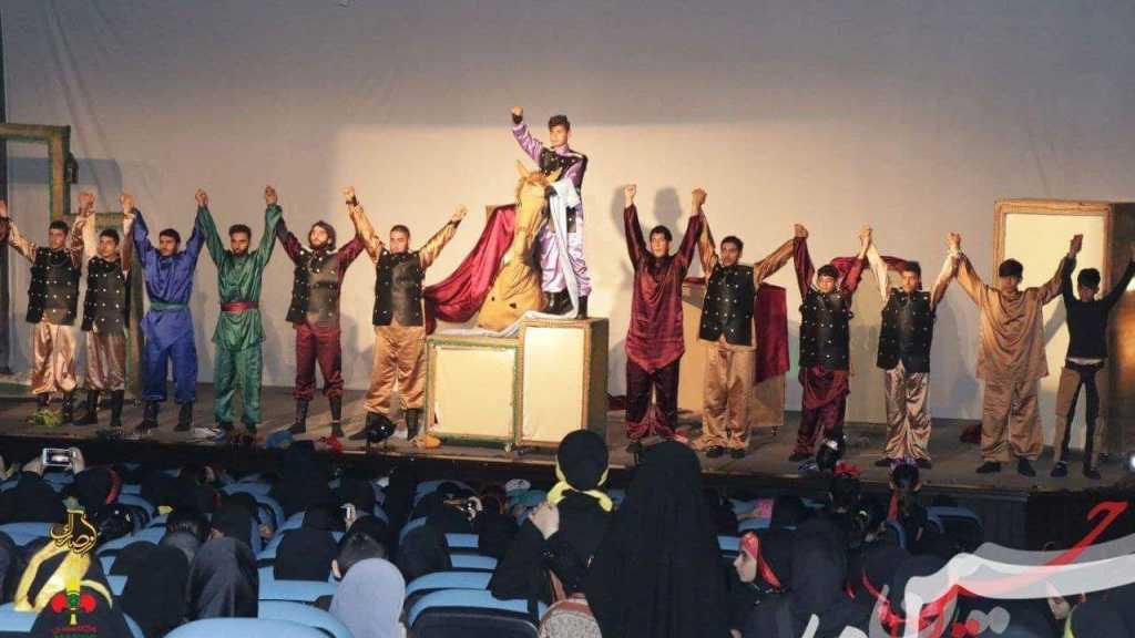 مفوضية جبل عامل الأولى تفتتح مسرحية (ورد) في صور.