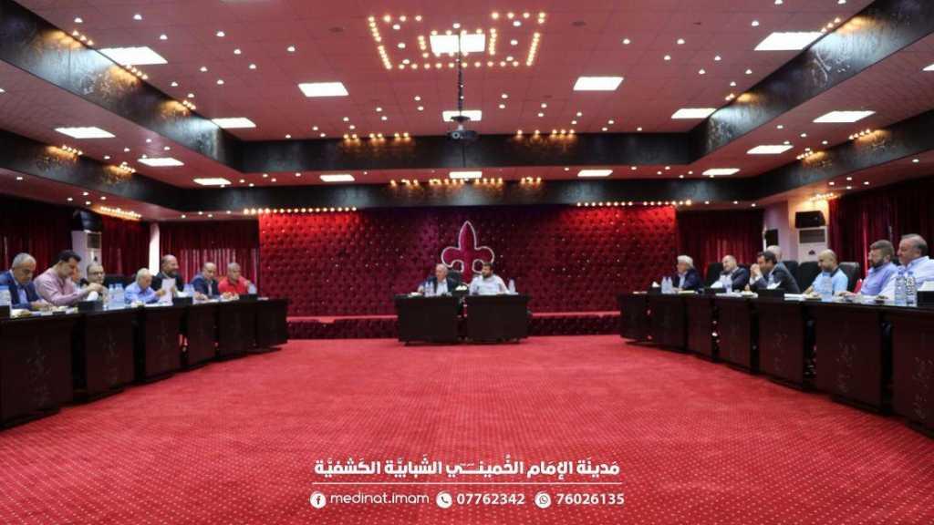 جلسة لإتحاد بلديات الشقيف في مدينة الإمام الخميني الكشفية