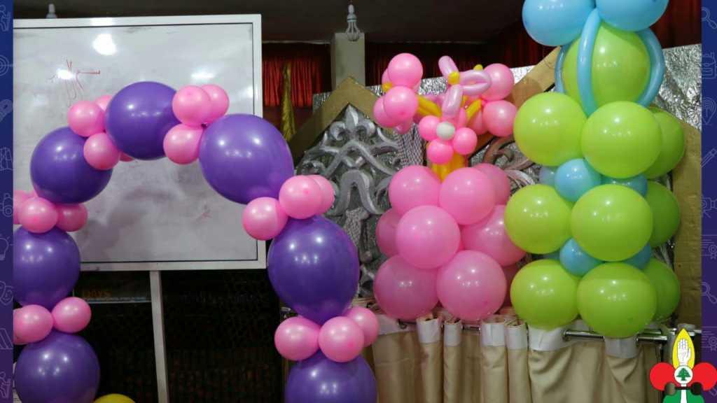 ورشة تزيين البالونات للقائدات في مفوّضية جبل عامل الثانية